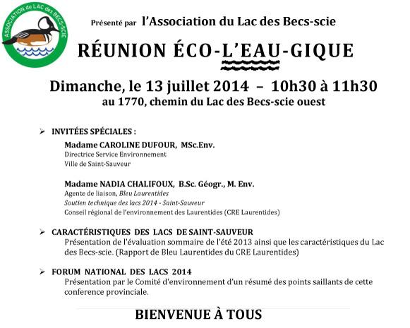 Avis Reunion Ecol'eaugique_2014