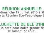 Dates pour 2015-fr